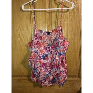 American Eagle XL, flower cami, tank top